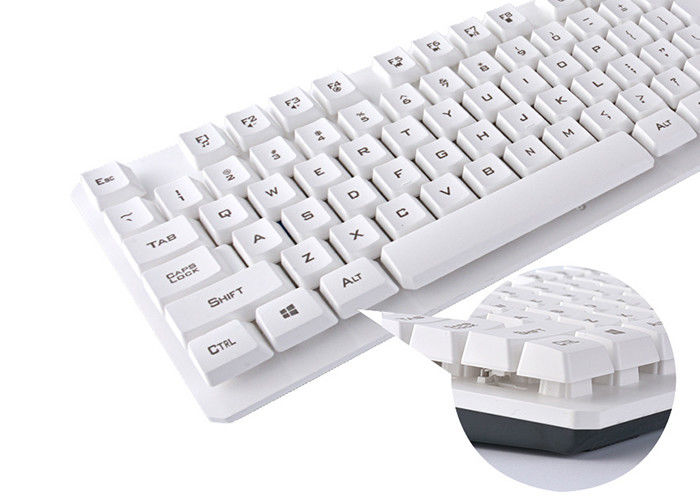 2.4G Compact Wireless Keyboard And Mouse Combo With CE / ROHS Certificate